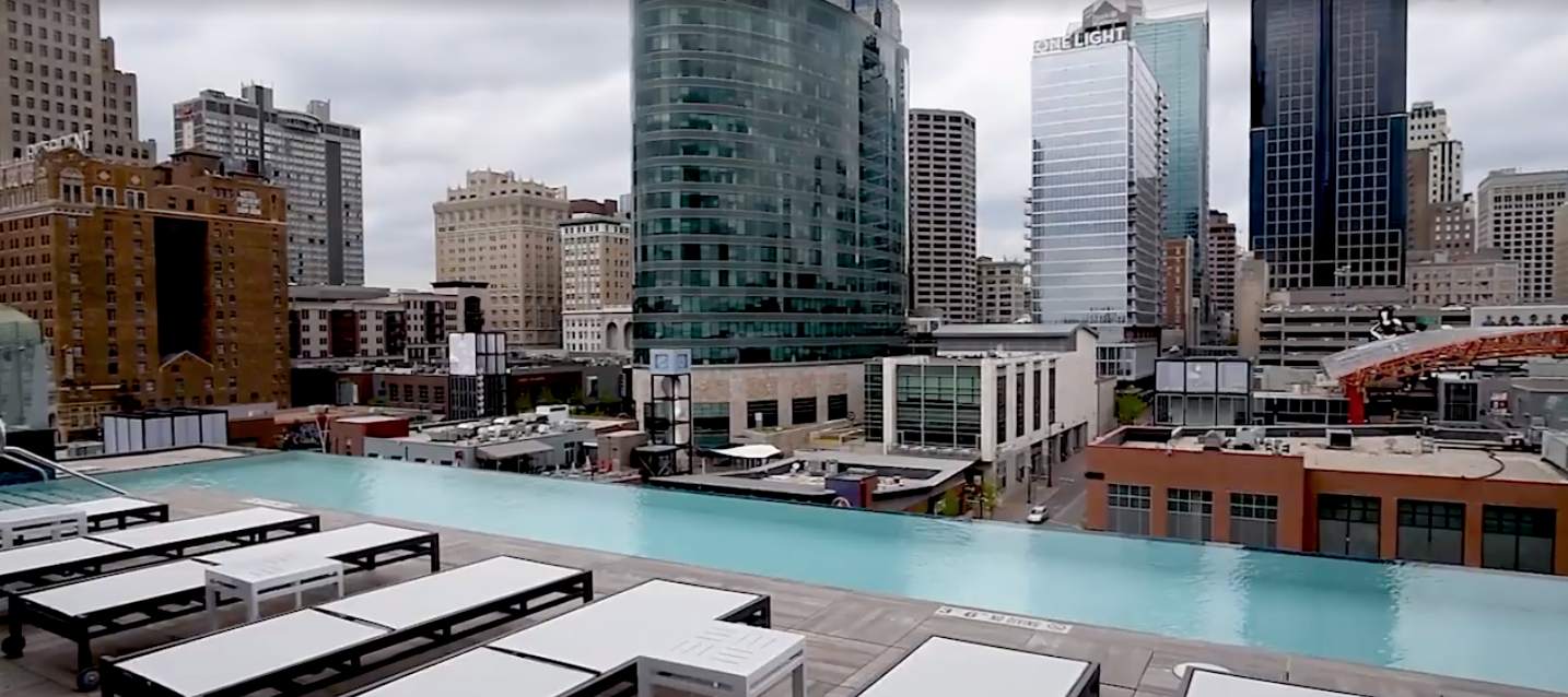 Two Light tour: Downtown KC's new high-rise has two pools, a luxe penthouse